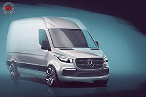 Mercedes-Benz presenta svela il nuovo Sprinter