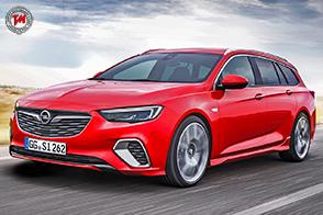 Insignia GSi Sports Tourer: l'ammiraglia Opel con il BiTurbo Diesel da 210 cv!