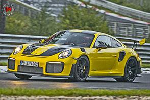Al Nurburgring è record per la Porsche 911 GT2 RS