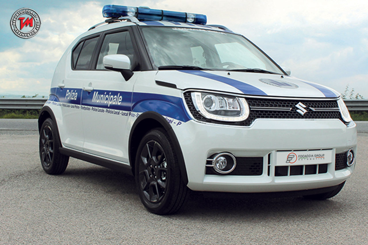 suzuki ignis 1 2 hybrid 4wd allgrip itop polizia locale. Black Bedroom Furniture Sets. Home Design Ideas