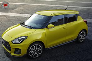 Prima mondiale al Salone di Francoforte per la Suzuki Swift Sport