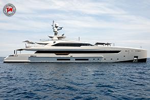 Tankoa Yachts S501 M/Y Vertige:  scafo realizzato interamente in alluminio