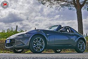 Mazda MX-5 RF 2.0L 160 cavalli Skyactiv-G Sport: potenza della leggerezza