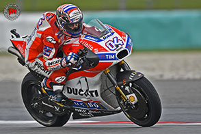 Strepitosa doppietta Ducati in Malesia, vince Andrea Dovizioso!
