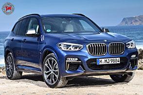 Vocazione sportiva per la nuova e performante BMW X3 M40i