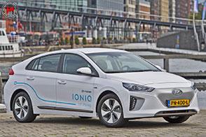 Parte da Amsterdam il car sharing della Hyundai Ioniq Electric