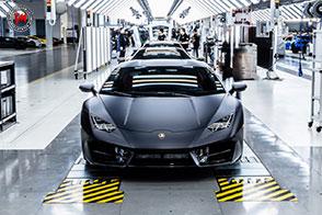 La nuova fabbrica Lamborghini pronta il lancio della Urus