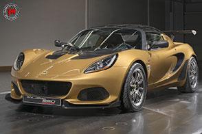 Fibra di carbonio e turbo per la velocissima Lotus Elise Cup 260