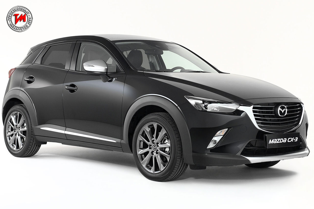mazda cx 3 limited edition in partnership with pollini. Black Bedroom Furniture Sets. Home Design Ideas