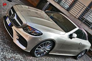 Sinuosa ed accarezzata dal vento: Mercedes Classe E Cabrio