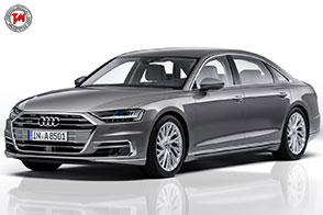 Alluminio, fibra di carbonio e space frame: l'Audi svela la sua nuova A8
