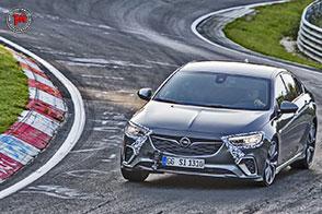 Al Nurburgring 12 secondi più veloce rispetto alla precedente OPC per la Insignia GSi