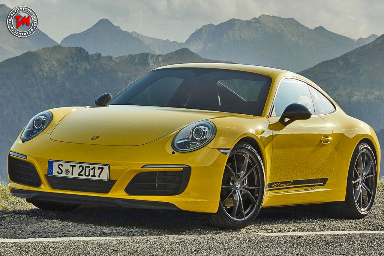 leggerezza e potenza per la nuova porsche 911 carrera t. Black Bedroom Furniture Sets. Home Design Ideas