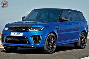 Range Rover Sport SVR: 404 cavalli per un veicolo speciale!