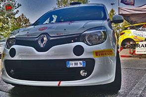 Renault Twingo GT R1: l'auto da rally per i più giovani