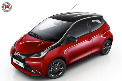Toyota Aygo X-cite Red Bi-tone