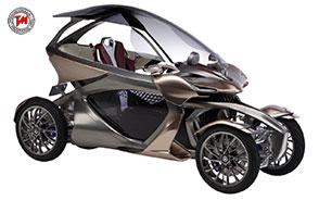 Due motori elettrici ed uno a benzina per il concept Yamaha MWC-4