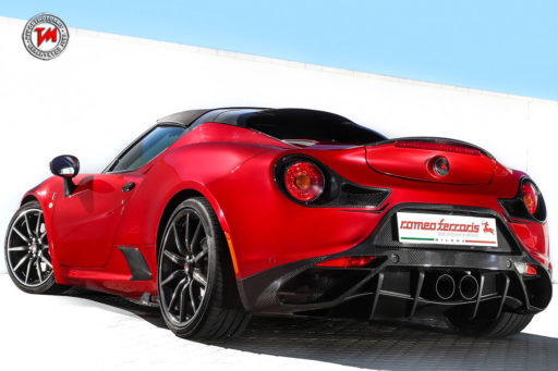 Alfa Romeo 4C by Romeo Ferraris