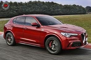 Potenza infinita per il nuovo Stelvio Quadrifoglio firmato Alfa Romeo