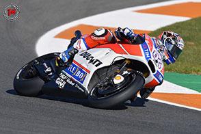 Inizio positivo per Andrea Dovizioso sul circuito di Valencia