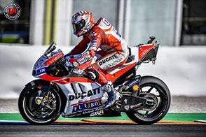 Riscontri positivi per Dovizioso e Lorenzo nei test di Valencia