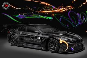 L'artista cinese Cao Fei realizza una BMW M6 GT3 ipnotica!