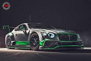 Bentley Motorsport presenta la sua nuova Continental GT3