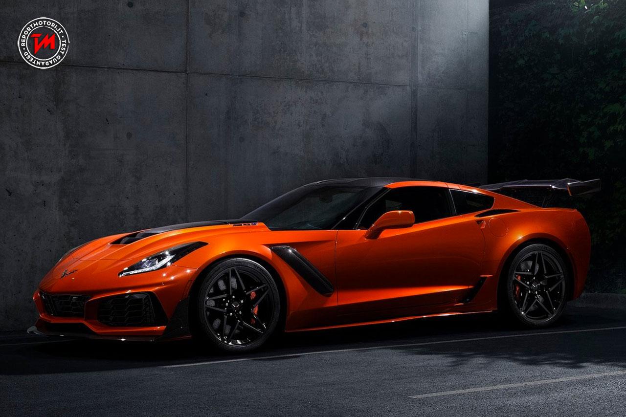 Potenza infinita per la Chevrolet Corvette ZR1 2019