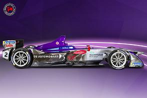 DS Virgin Racing presenta la nuova monoposto di Formula E 2018