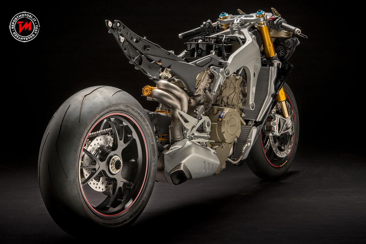 Ducati Panigale V Motor