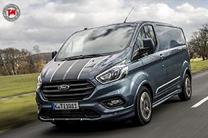 Nuovo motore EcoBlue per il Ford Transit Custom