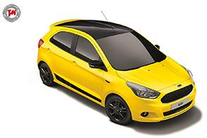 Ampia scelta di colori per la Ford KA + Color Edition