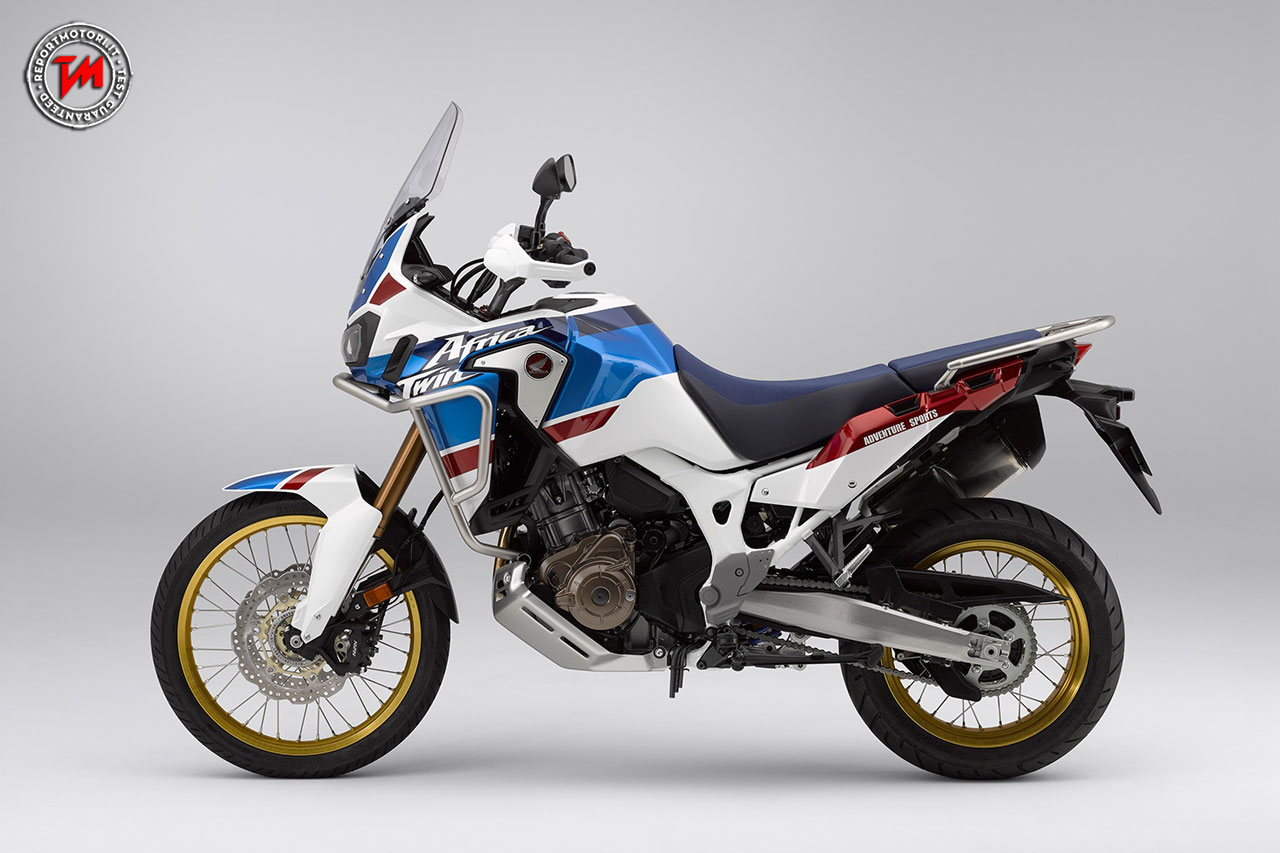nuova honda crf1000l africa twin adventure sports