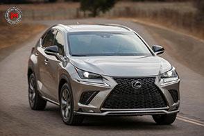 Una nuova unità elettrica per la nuova Lexus NX Model Year 2108