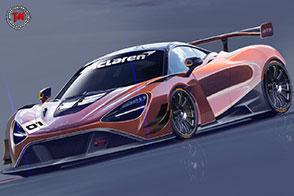 Allo studio la nuova e potente McLaren 720S GT3