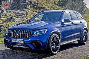 Nuove Mercedes-AMG GLC 63 4Matic: potenza a due stadi!