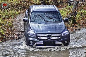 Un pick-up stellato: Mercedes-Benz Classe X