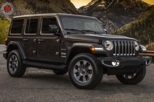 Nuova Jeep Wrangler