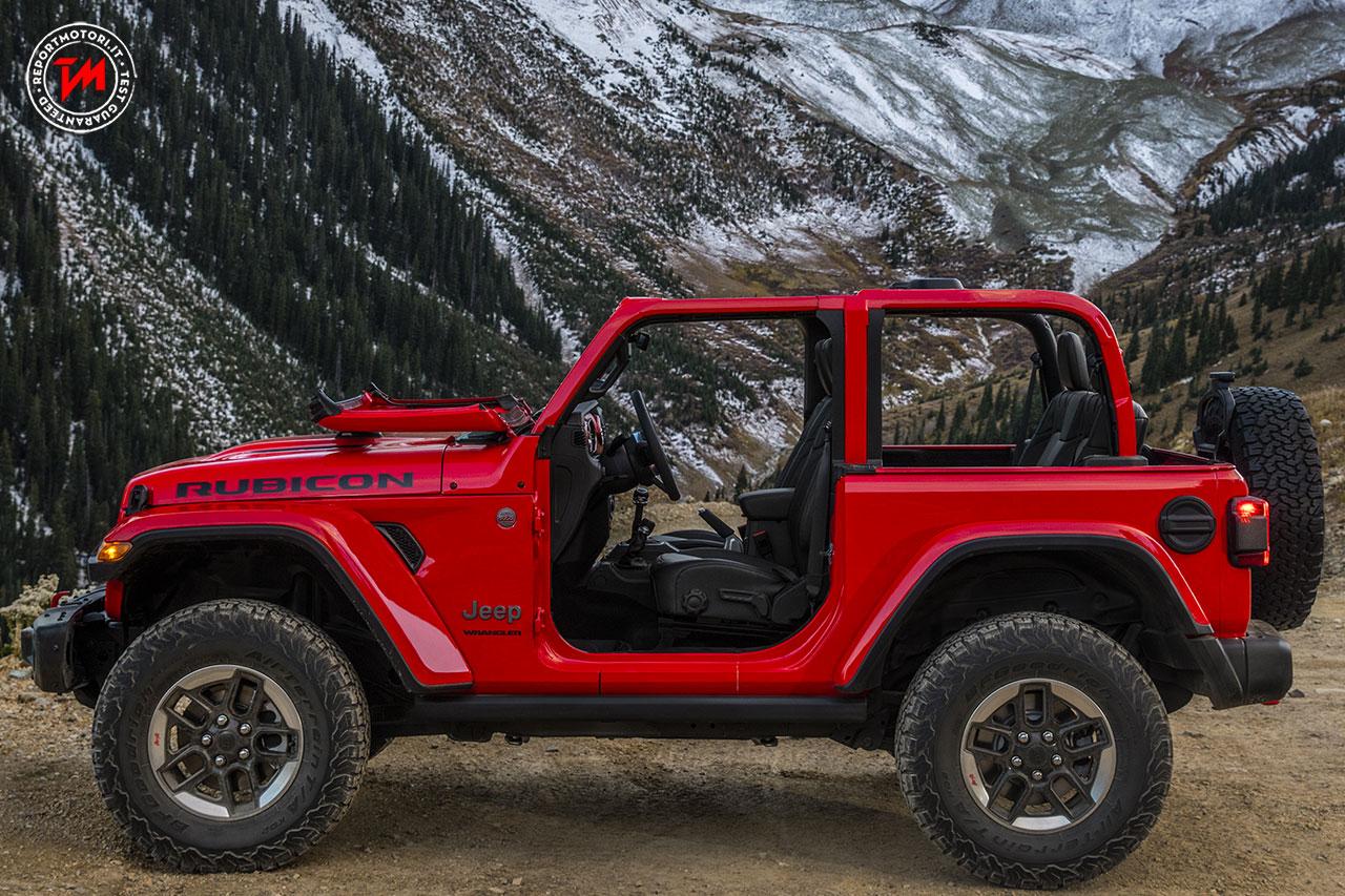 Al Salone di Los Angeles svelata la nuova Jeep Wrangler