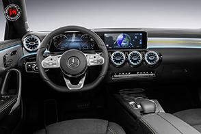 Mercedes-Benz svela gli interni della nuova Classe A