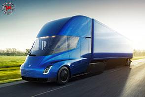 Un truck rivoluzionario il futuristico Tesla Semi