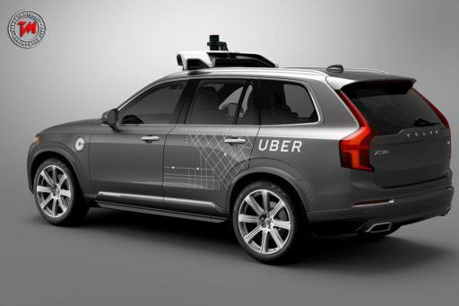 Volvo XC90 - Uber