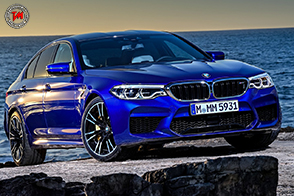 La BMW M5 2018 punta sulle massime prestazioni grazie all' M xDrive
