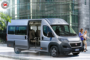 Nuovo Fiat Professional Ducato Minibus: 14 o 17 posti