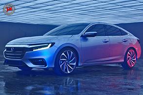 Al Salone dell'auto di Detroit, Honda presenta la Insight Concept 2018