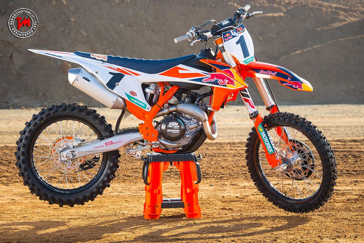 Ktm 250 Factory Edition 2018 >> KTM 450 SX-F Factory Edition: destinata al solo mercato Americano