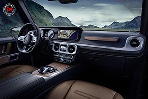 Nuovo sistema di infotainment per Mercedes-Benz Classe G
