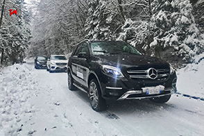 Il Monte Grappa accoglie la gamma SUV di Mercedes-Benz