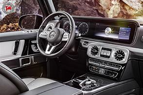 Svelati gli interni della nuova Mercedes-Benz Classe G