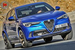 Divertimento al quadrato alla guida della nuova Alfa Romeo Stelvio Quadrifoglio